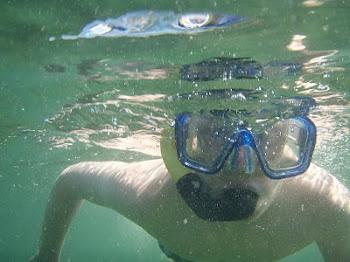 Adon the snorkeller