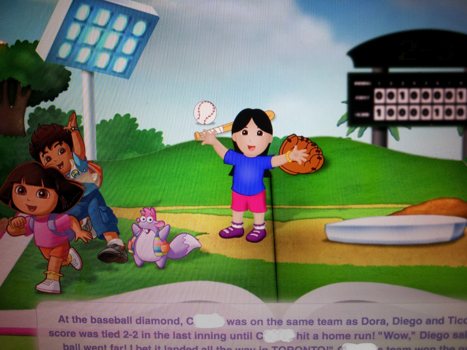 dora the explorer and dora digital story book product review