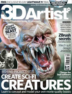 3D Artist Magazine Issue 43 2012