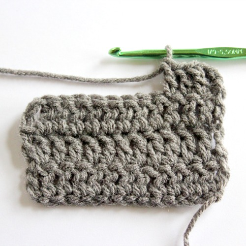 Crochet Yarn Store : When you?re done, cut your yarn and pull it through the last loop ...