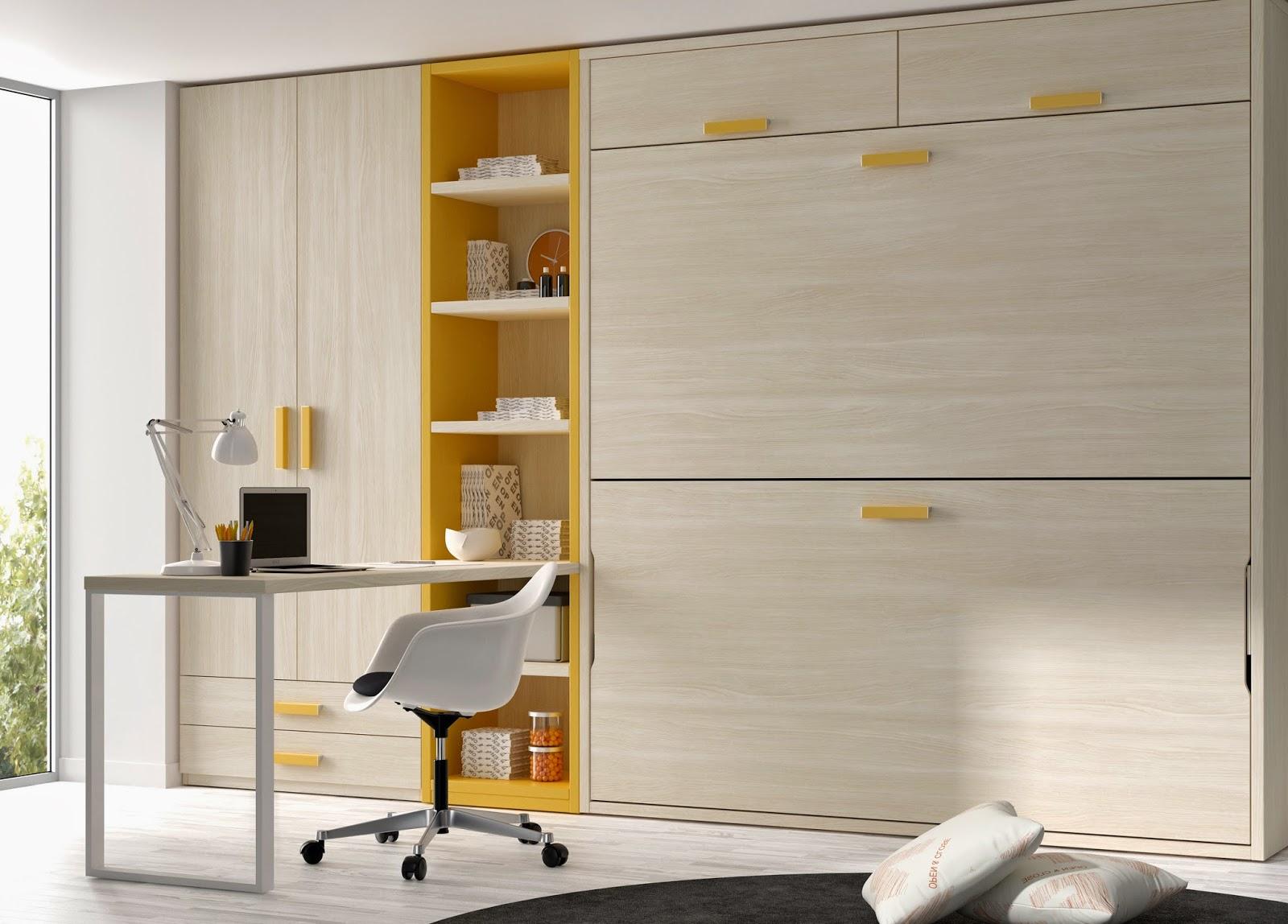 Poco espacio te lo solucionan las nuevas camas abatibles de muebles ros - Soluciones escaleras poco espacio ...