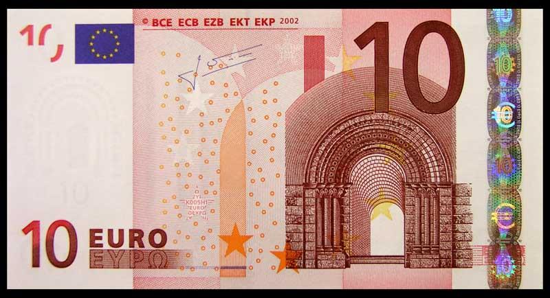 Ciri Ciri Uang Euro Adalah Bahterbuat Dari Kertas Ukuran Setiap Pecahan Berbeda Yang Jelas Lebih Besar Pecahan Semakin Lebar Atau Besar Ukur