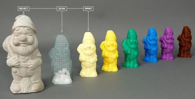 Digitizer 3D Desktop Scanner Örnekleri