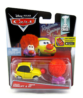 cars circus super chase