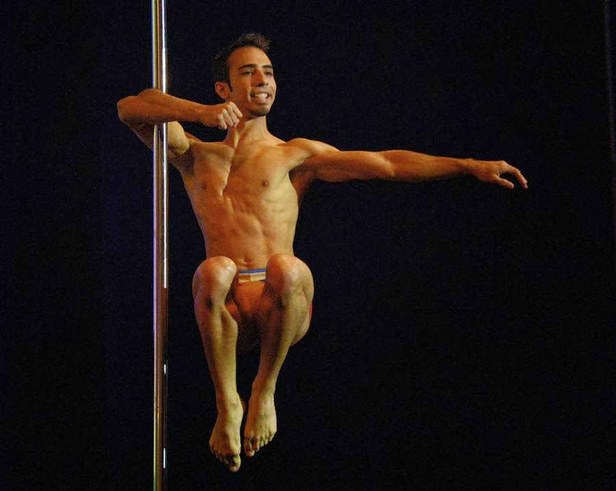 nude male pole dancing