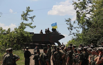 Ukrainian army began the withdrawal of light artillery in the Luhansk region