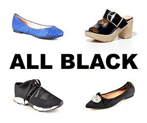 All Black Footwear