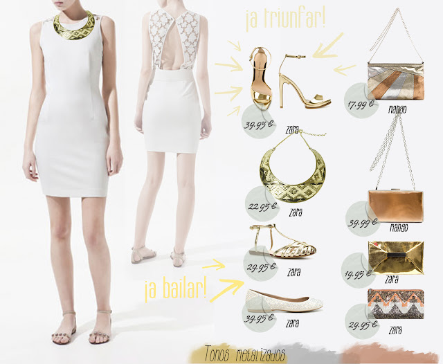 combinar vestidos blancos graduación comunión zara hermanas bolena