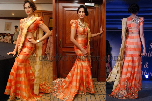 Shilpa Reddy Walks as a Show Stopper