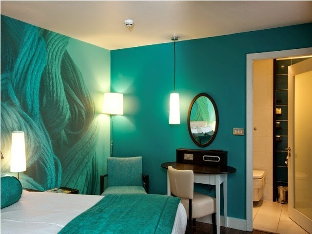 Best relaxing wall paint colors for Paint wall two colors