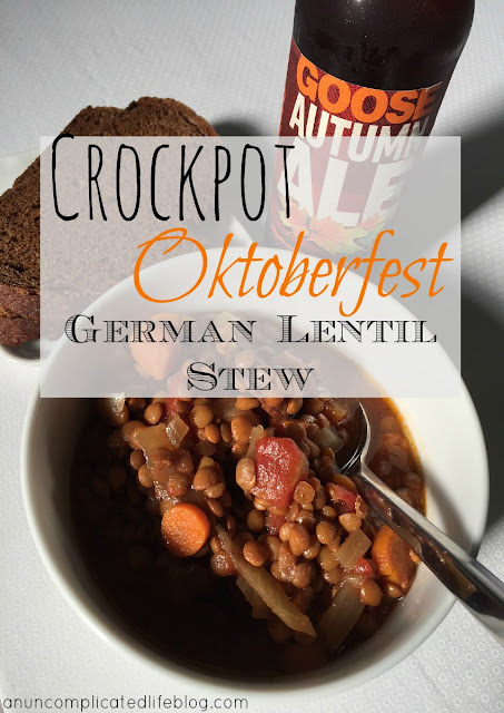 Great, simple #Oktoberfest recipe made in a slow cooker! #Crockpot