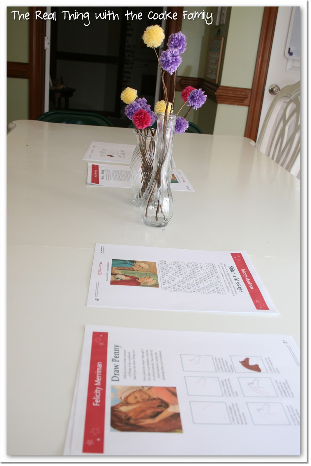 Felicity American Girl Party ~ Party Games & Thank You Notes