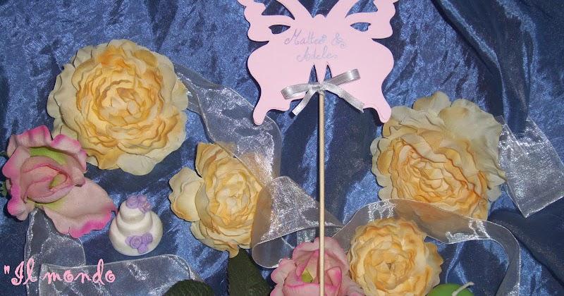 Matrimonio Tema Pasta : Il mondo di ariel segnaposto matrimonio tema farfalle