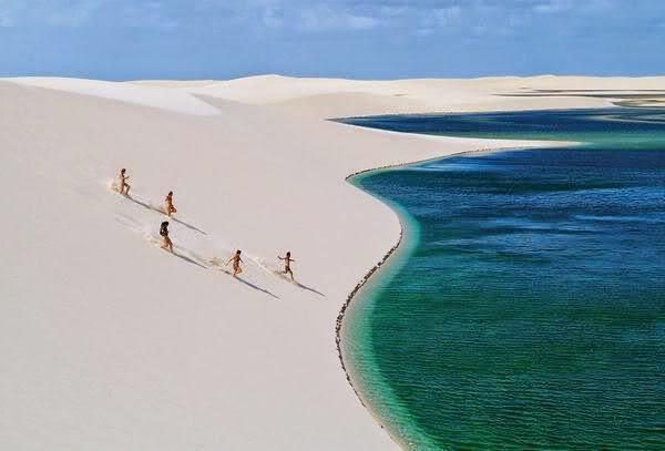 Sand Dunes, Brazil