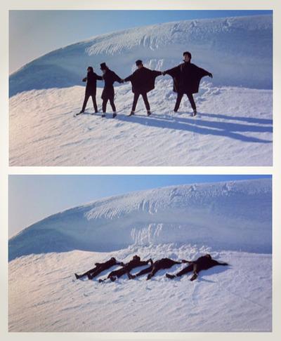 The Beatles Polska: Film Help! Beatlesi kręcą sceny w Austrii