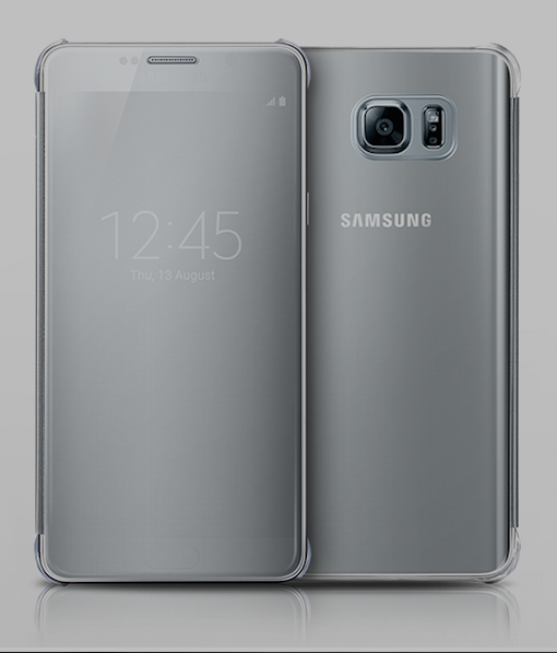 1. Clear View Cover for Note 5