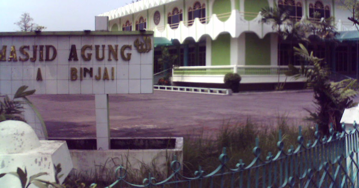 Image result for masjid agung binjai
