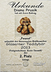 Gläserner Teddybär 2013