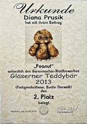 Gläserner Teddybär 2013