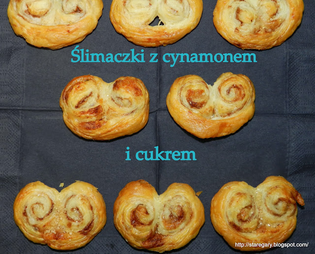 Ślimaczki z cynamonem czyli ciastka błyskawiczne