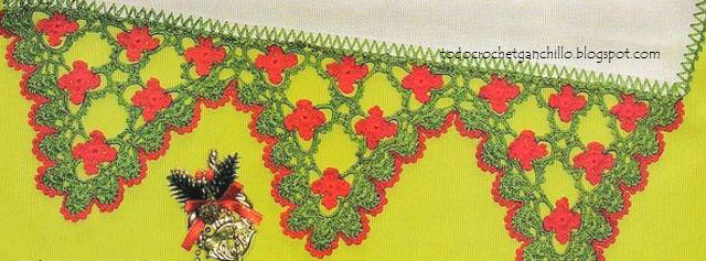 patrones de puntillas decorativas para navidad