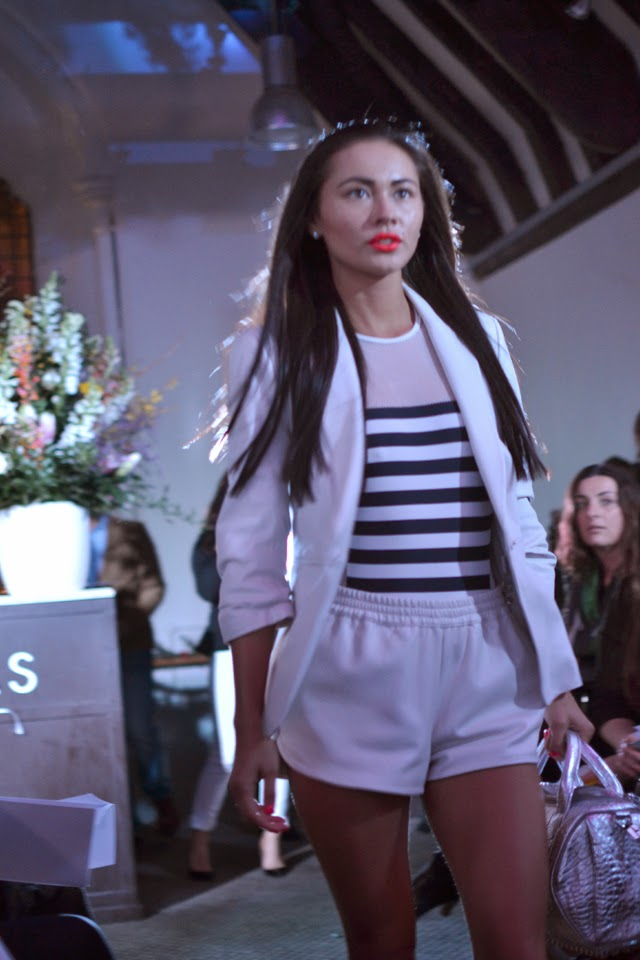 harvey nichols fashion show sports luxe