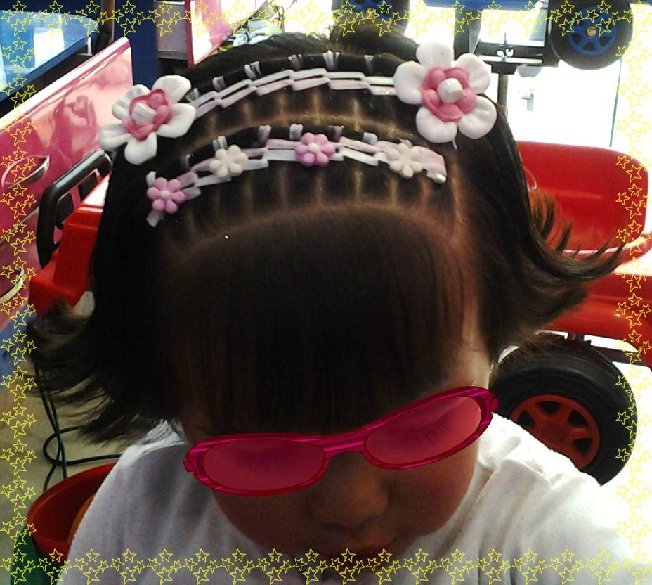 Bello peinado con cinta peinados para ni as pinterest - Peinados de ninas ...