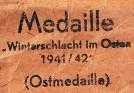 Medalla del frente Ruso
