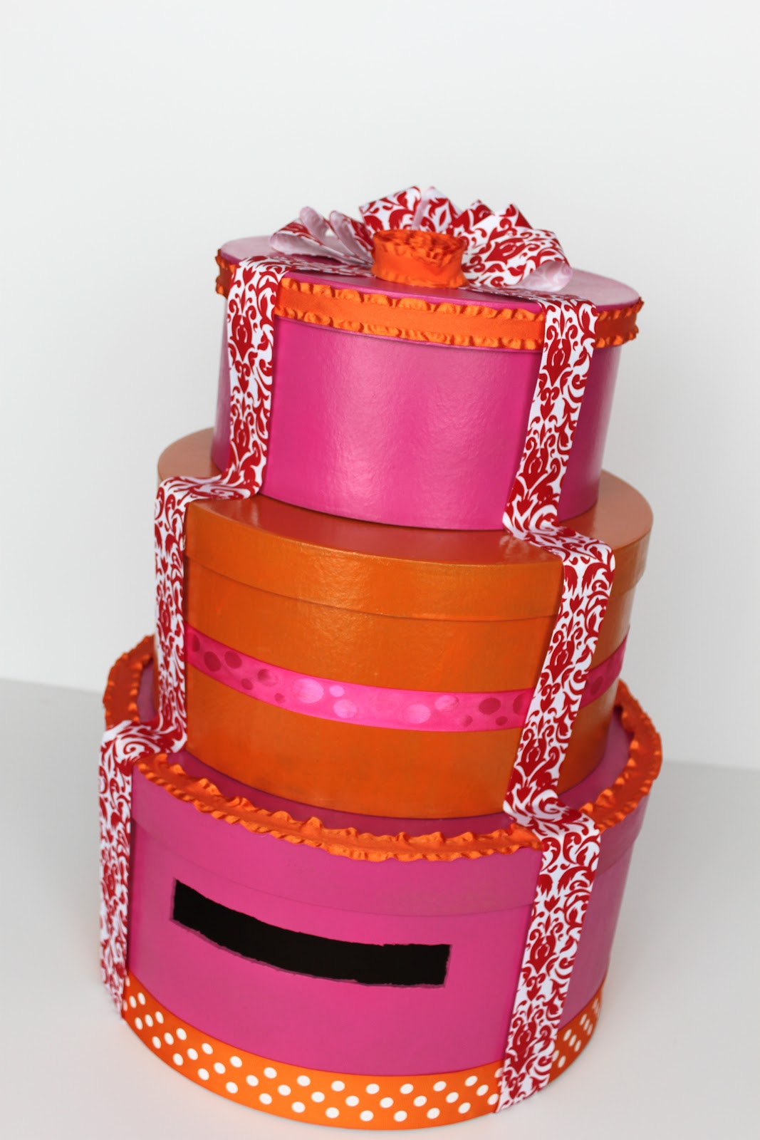 Wedding Cake Card Box-TUTORIAL - Smashed Peas & Carrots
