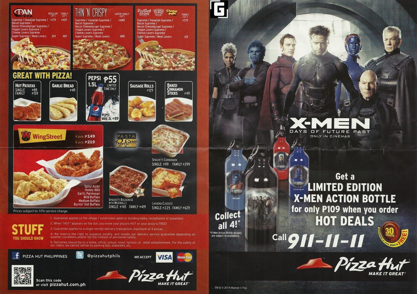 X Men Pizza 79