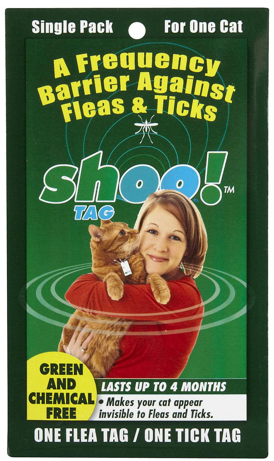 mickey 39 s pet supplies blog alternative to cat flea collar shoo tag for cats. Black Bedroom Furniture Sets. Home Design Ideas