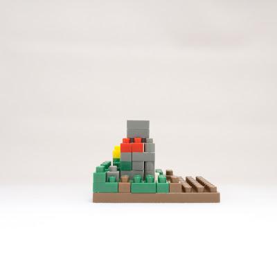 ナノブロックで作ったお地蔵さま