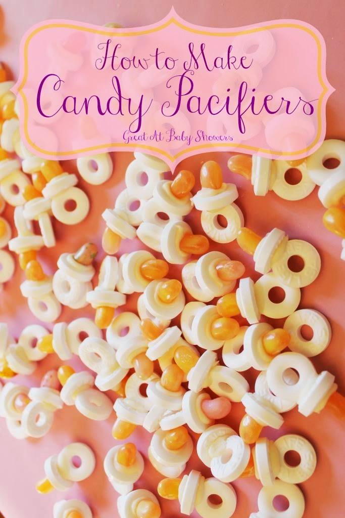 Candy Pacifiers For Baby Showers Miss Kopy Kat