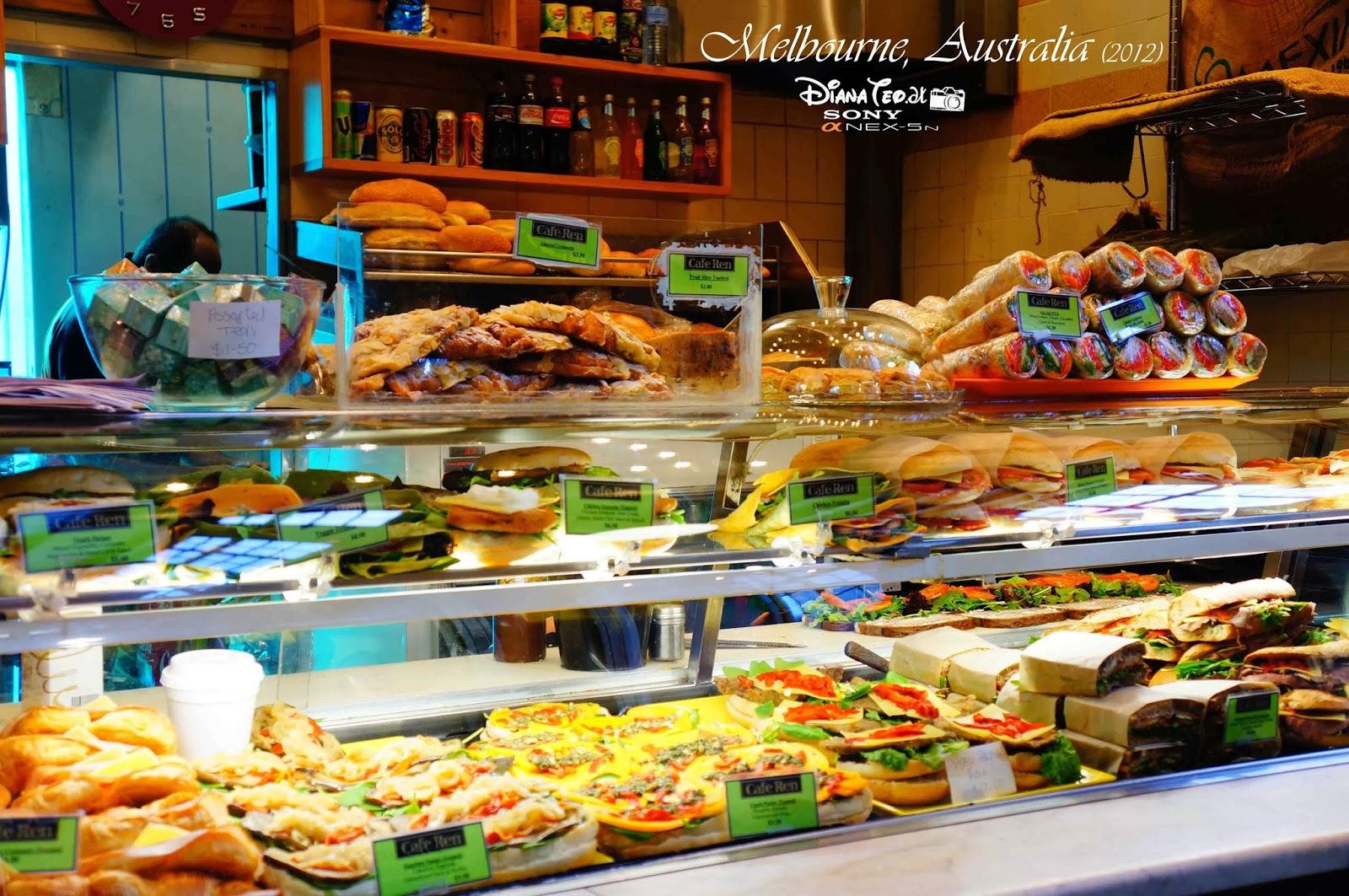 Melbourne australia day 6 queen victoria market for Australian cuisine melbourne