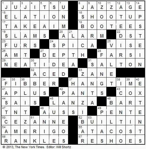 E Coyote Crossword Click on image to enlarge