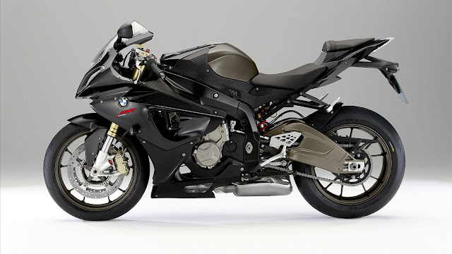 BMW s 1000 RR Black Bike