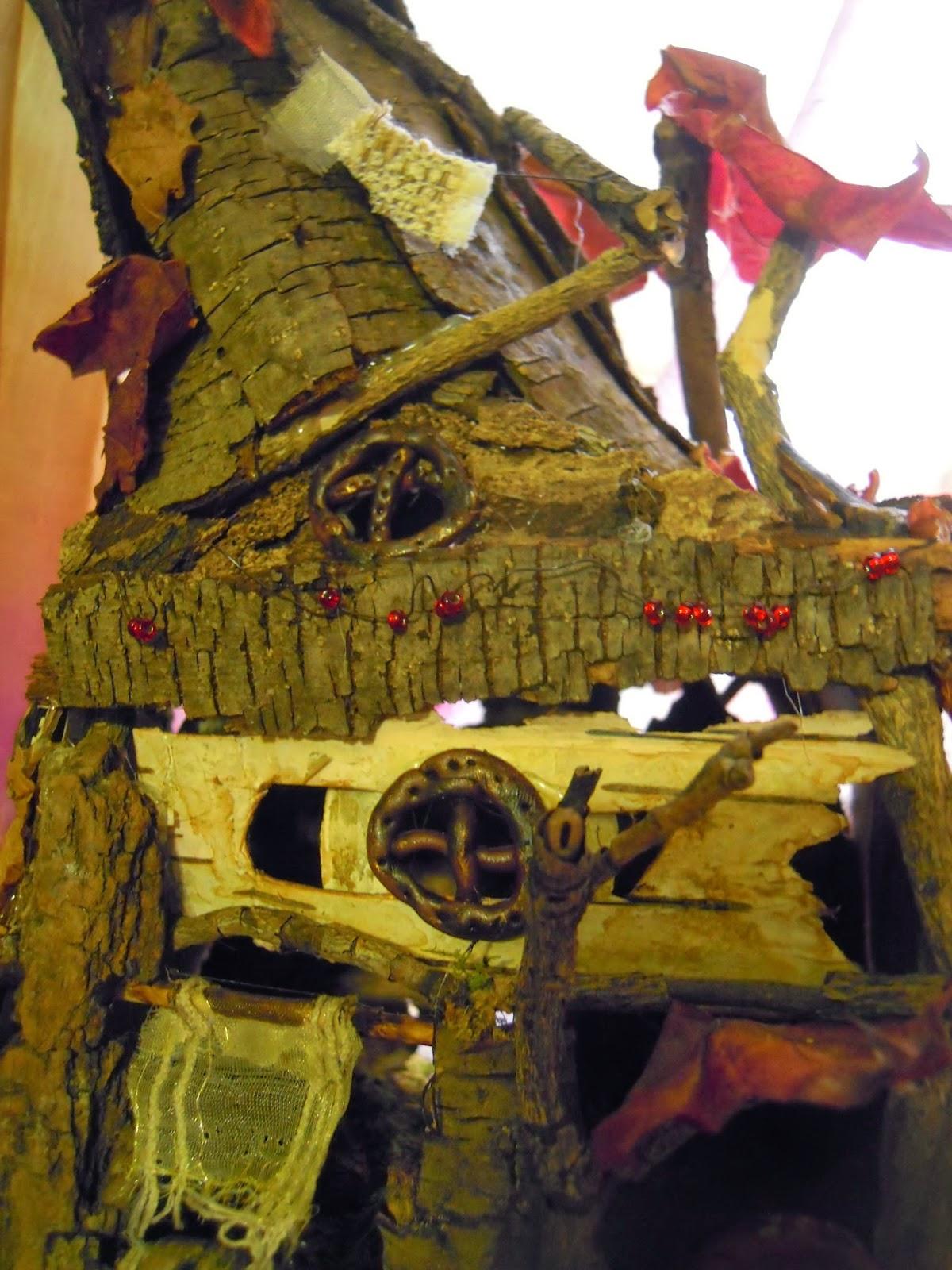 I folletti di bosco fatato autumn fairy house - Oblo tetto casa ...