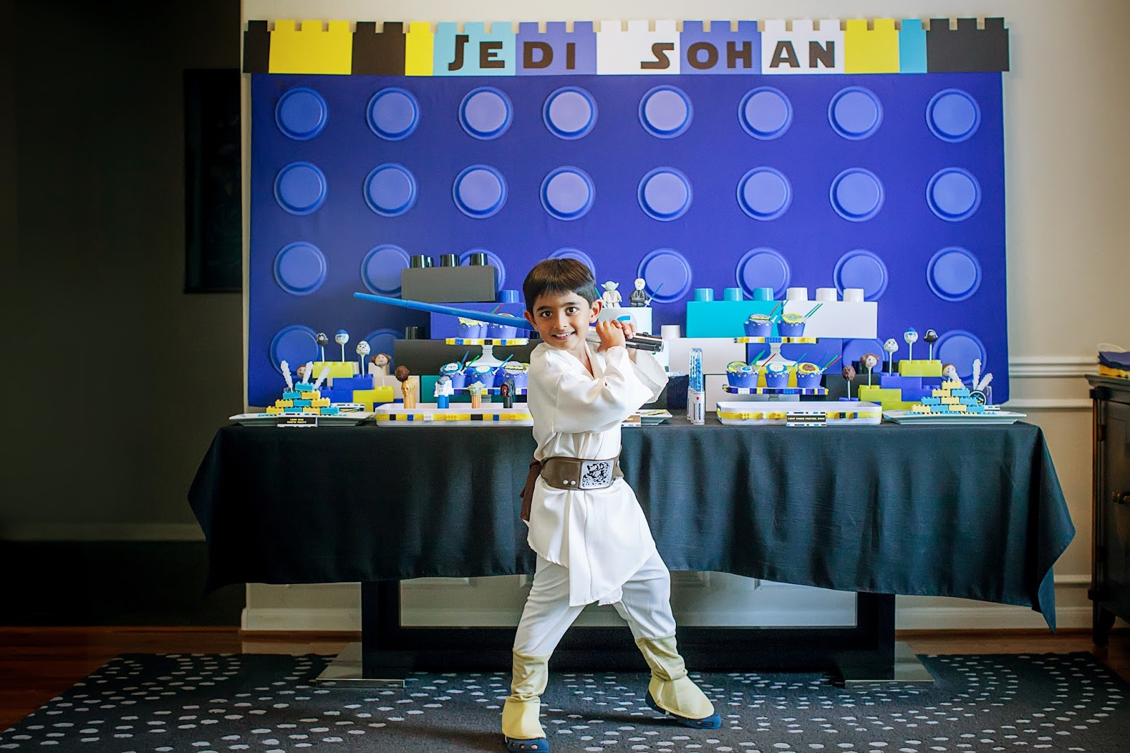 The Party Wall: Legos and Lightsabers, A Lego Star Wars inspired ...