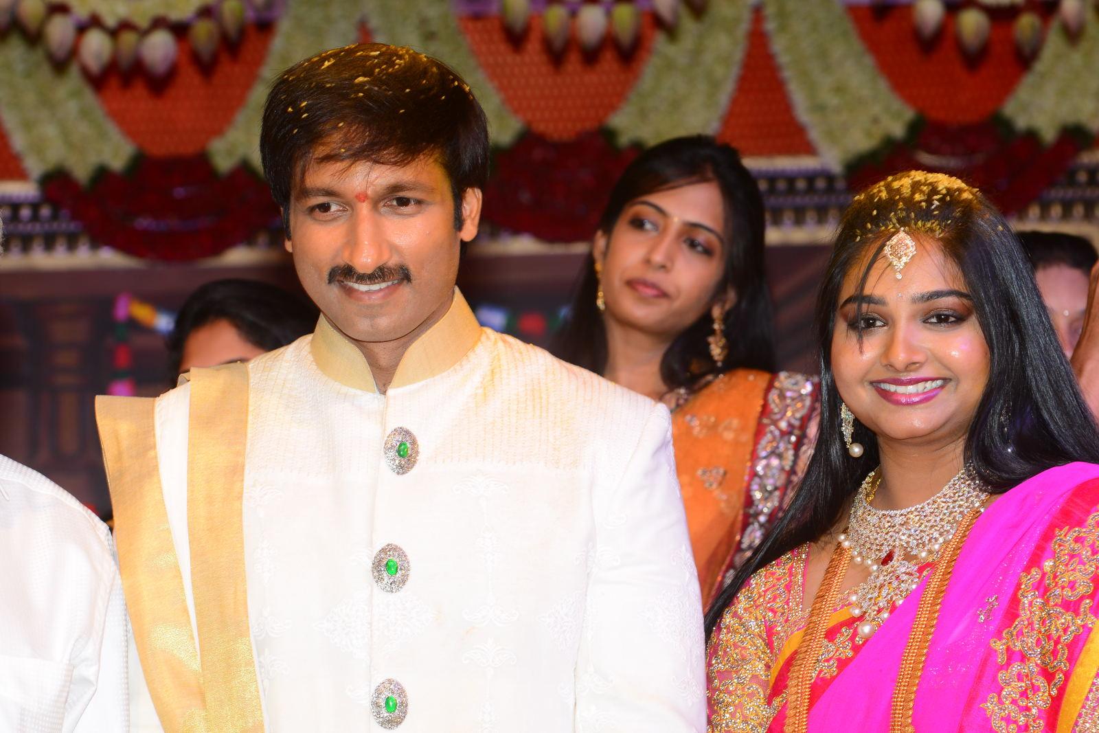 gopichand reshma marriage photos6