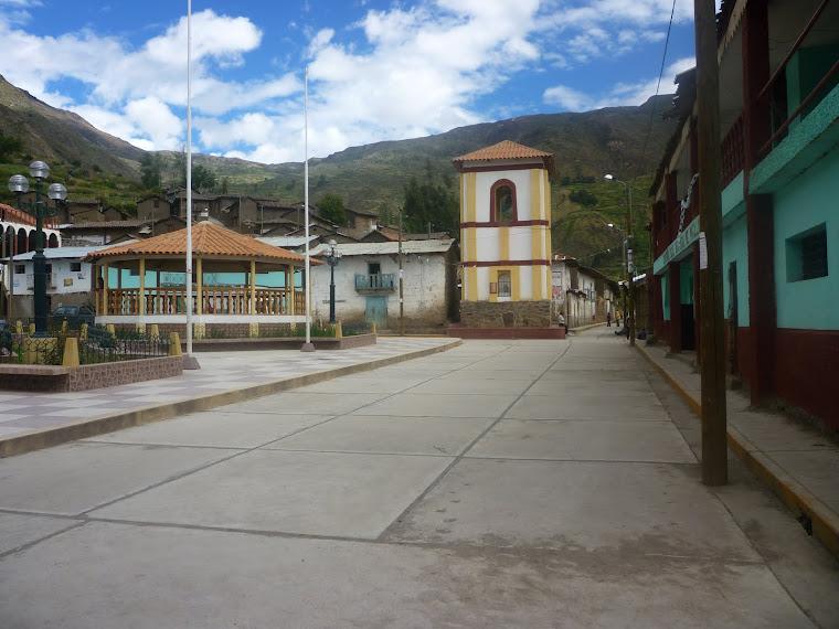 Plaza de Armas de Pacllón