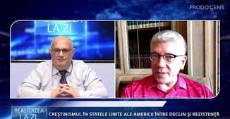 Realitatea la zi: CREȘTINISMUL ÎN SUA - ÎNTRE DECLIN ȘI REZIST 🔴 Interviu cu Cristian Ionescu