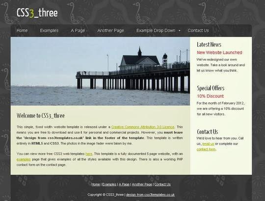 CSS3 Three