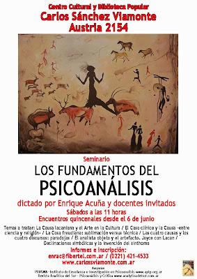 """Seminario """"Los fundamentos del psicoanálisis"""""""