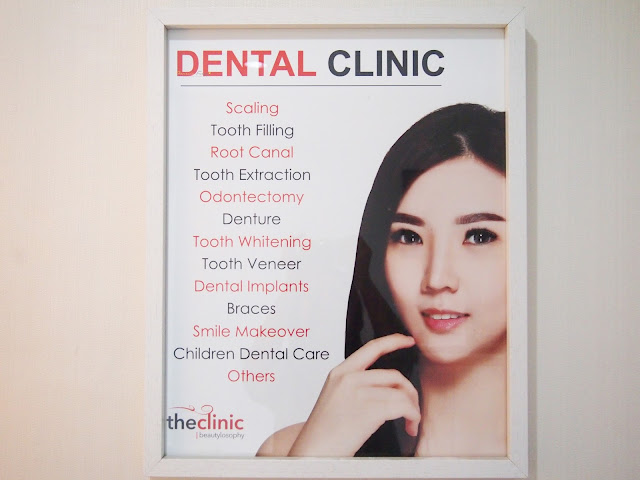 Teeth scaling and whitening for a perfect teeth. The Clinic Tanjung Duren for beauty and dental treatment.