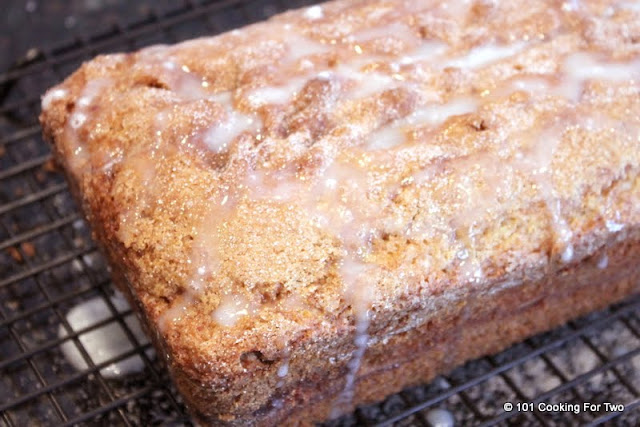 Cinnamon Sugar Swirl Quick Bread from 101 Cooking For Two