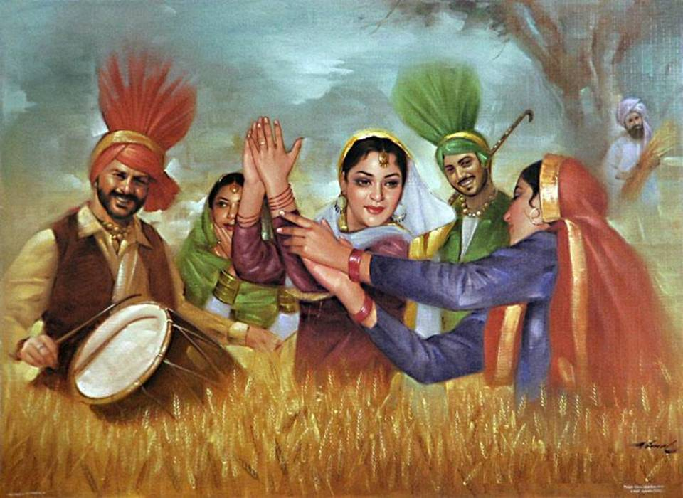 Pictures that show Punjabi culture