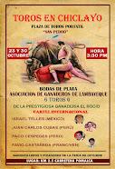 Paco Cespedes, anunciado en Chiclayo, 23 y 30/10.