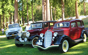 Powel River, BC, Vintage Car Show