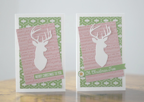 Amy Tsuruta Chickaniddy Crafts Christmas Cards 2