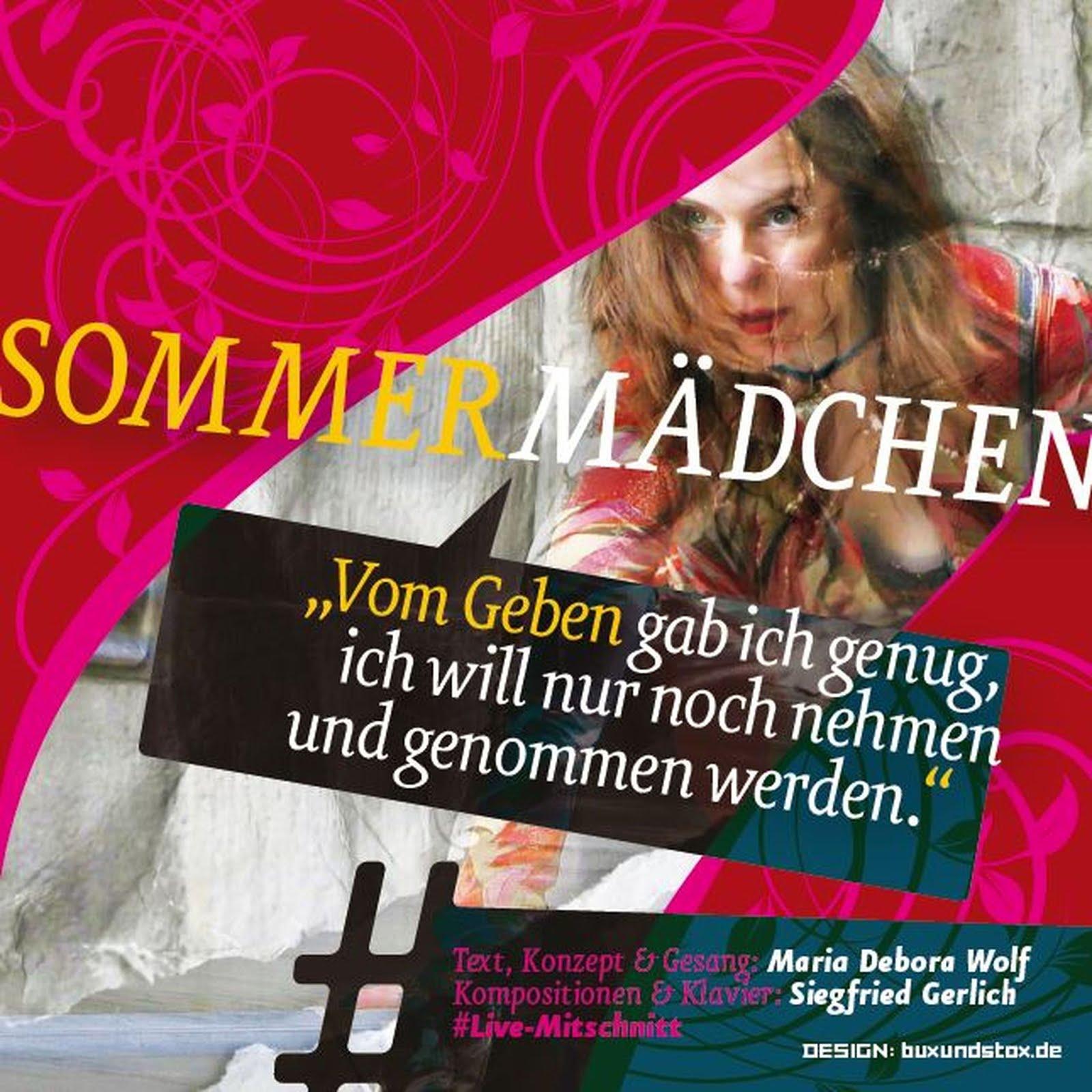"""""""Sommermädchen""""  EIN THEATER-CHANSON-ABEND"""